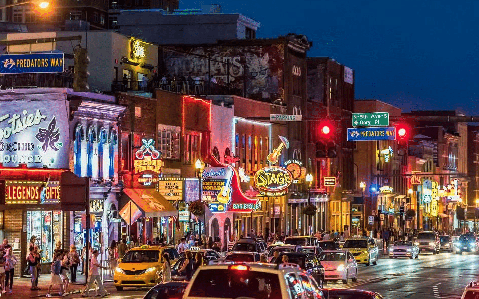 Broadway Nashville Bar And Restaurants