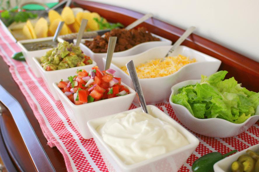 Ideas For Taco Bar Buffet