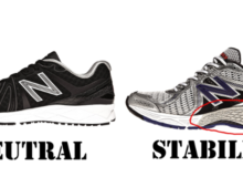 Difference Between Neutral & Stability Running Shoes